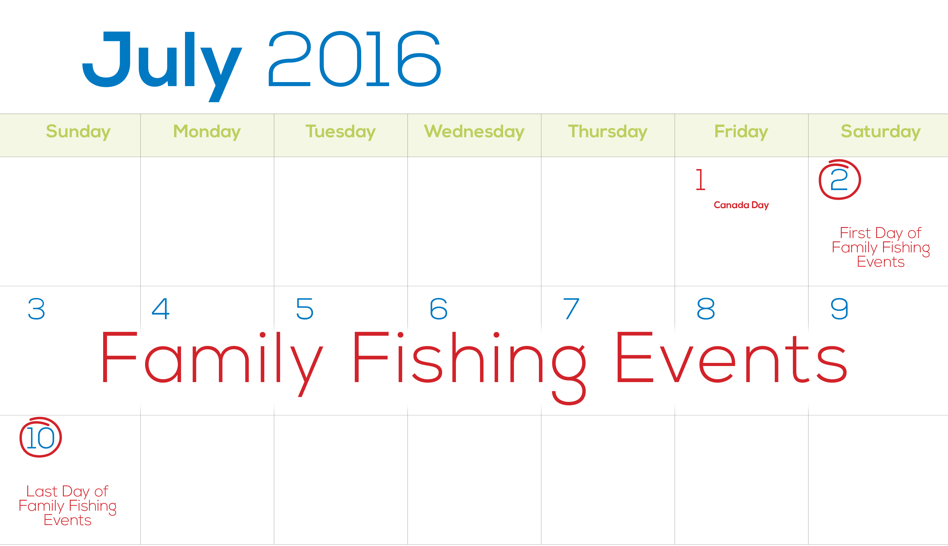 License free days ontario family fishing events for Day fishing license