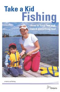 Get started fishing ontario family fishing events for Take a kid fishing